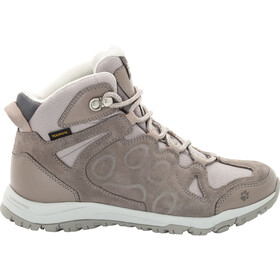 Jack Wolfskin Rocksand Texapore Mid Shoes Women moon rock